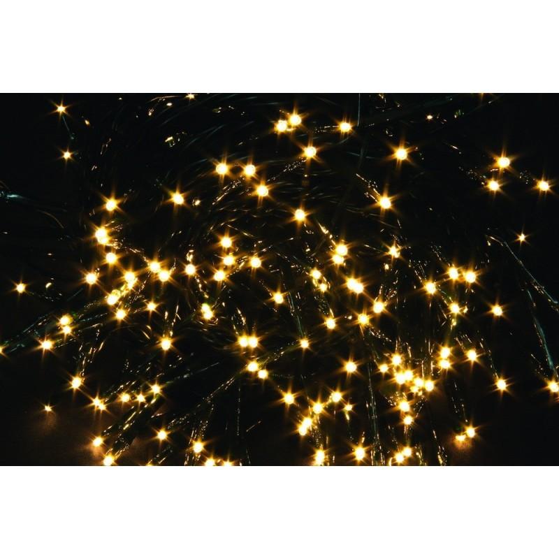 180 Luci Led Per Esterno/interno   IP 44   Luce Calda Gialla  Cavo