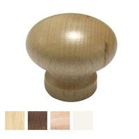 pomolo legno naturale diam 35 mm