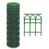 rete ornamentale plasticata h 130 mt 10 color verde
