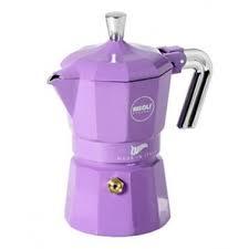 caffettiera 1 tazza zarina color lilla