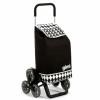 carrello per spesa  gimi molto capiente con ruote adatte per scale
