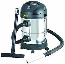 aspira liquidi solidi  ceneri fredde filtro hepa  fusto inox lt 14+14