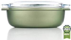 rostiera ovale cm 36x 24 con cop. pyrex