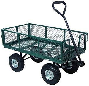 carrello acciaio h cm 40 4 ruote 2 sterzanti carico max 400