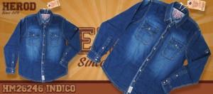 camicia jeans tg m