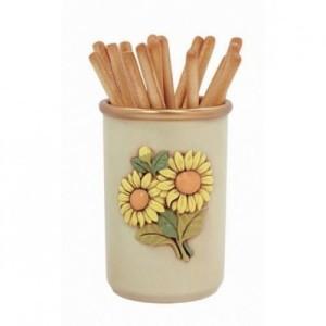 egan barattolo in ceramica dipinto a mano