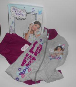 violetta tuta in cotone felpato grigio composta da giacca piu' pantaloni h cm 128 eta ' 8 anni.