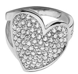 anello con swarosky nikel free