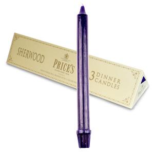 set 3 candele blu misure candela mm.250x22mm diametro-peso 90 grammi-in cera di ottima qualita'