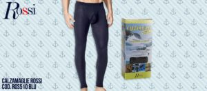 calzamaglia uomo colore blu,senza piede in cotone elasticizzato,80%cotone.