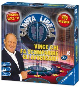 gioco da tavolo,con le domande del famoso quiz televisivo. dimensioni scatola 30x30 7 h
