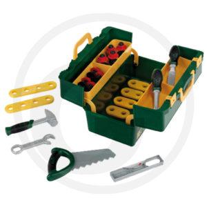 cassetta attrezzi giocattolo,adatta dai 3 anni in su. peso gr. 900 misure cm 29x15x19