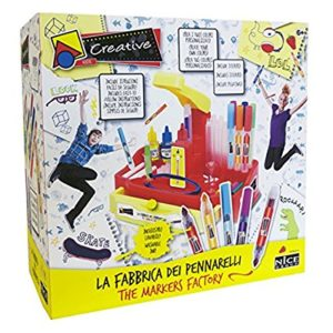tutto il necessario per creare i tuoi pennarelli,inchiostro atossico e lavabile. istruzioni facili da seguire.