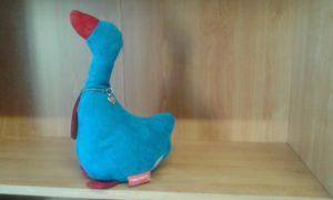 fermaporte ochetta dimensioni cm 26x14 - peso kg 1,5 - colore azzurro/rosso