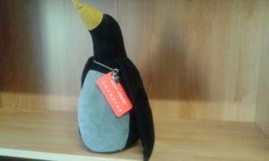 fermaporte pinguino dimensioni cm 26x14 - peso kg 1,5 - colore nero/grigio/giallo