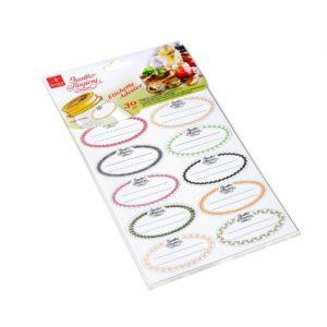etichette adesive con decori assortiti - blister da 30 pezzi -