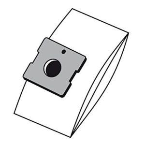confezione 5 sacchetti di carta con un filtro protezione motore e un filtro hepa. originali per respiro 1500w art 8003
