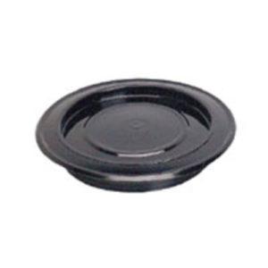rosone smaltato nero - diametro cm 20  -
