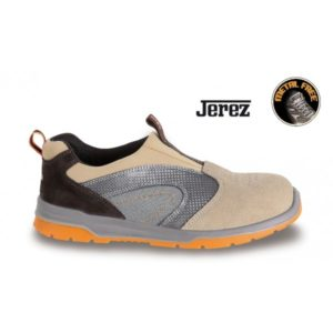 scarpe antinfortunistica  con puntale in fibra di vetro resistanza 200 jaul - suola antiperforazione - pelle scamosciata