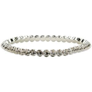 """braccialetto tipo """"tennis""""con cristalli swarosky - made in austria -"""