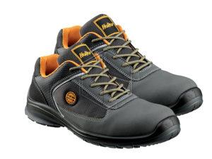 scarpe antinfortunistica - tipo basse - S1P in AC NABUK e nylon mesh textile  - alta traspirabilità - metal free - puntale in composito 100-200J - inserto antiperforazione -