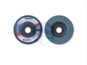 disco lamellare allo zirconio,con supporto in nylon- diam.mm 115 - grana 40