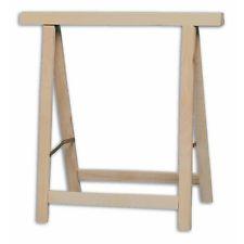 cavalletto in legno pieghevole. larghezza cm 75 altezza cm 72