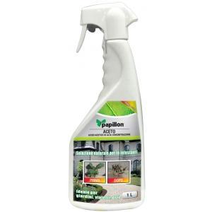diserbante bio a base di acido acetico ideale per le infestanti  pronto all'uso. 1000 ml