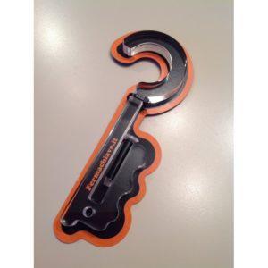 fermachiave per porta blindata- in materiale plastico molto robusto - blocca la chiave - protegge dai ladri e evita che i bambini si chiudano dentro casa -