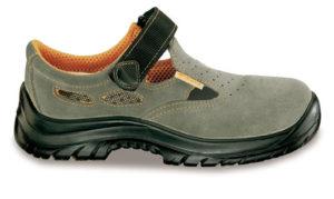 sandali in morbida pelle scamosciata,S1P. TAGLIA  45