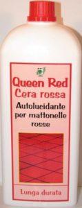 cera rossa - autolucidante- ideale per piastrelle, mattonelle, cotto.- antiscivolo - confezione da 1000 ml -