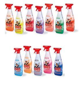 detergente pulitore - con essenza profumata - contenuto ml 750 - profumazione gialla -