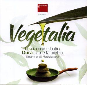 padella diam cm 24 - rivestimento speciale con olio di oliva - adatta per tutte le forme di calore - anche per induzione -