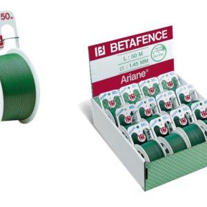bobina arianne - filo plasticato verde - mt. 50 -