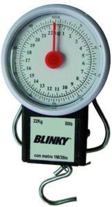bilancia a molla - pesatura con gancio - pesa max 22 kg. - flessometro incorporato -