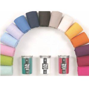 lenzuolo sotto con elastici - cm 90x200 - colore bianco - puro cotone -