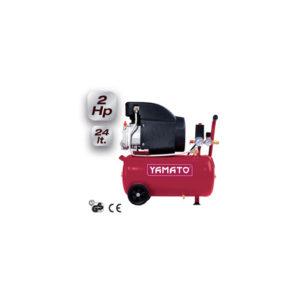 compressore 24 litri - carrellato - mod.24/2M1CD - 8bar pressione max . peso 25 kg -