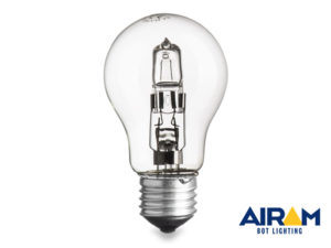 lampada goccia 120w - equivale a159w - attacco E27 - durata 2000 ore - classe D -