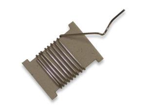 filo di stagno al 50% - 1 metro - diam . mm.1,5