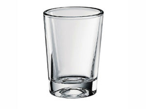 confezione 3 pz. - bicchiere in vetro - cl 13,50 -